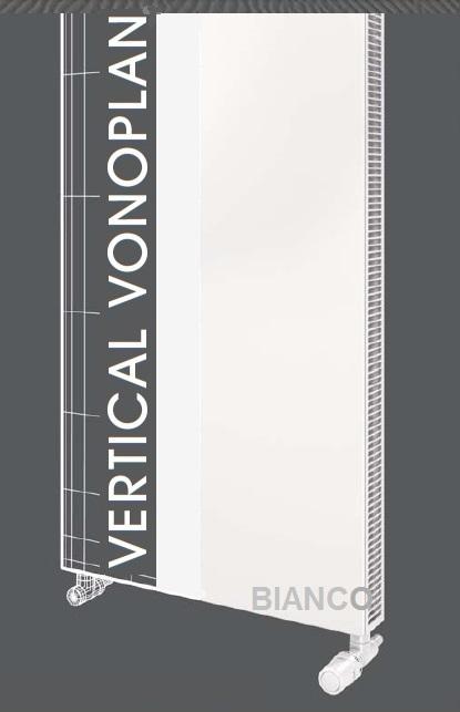 Calorifer vertical Vogel&Noot VonoPLAN K20x1600x400