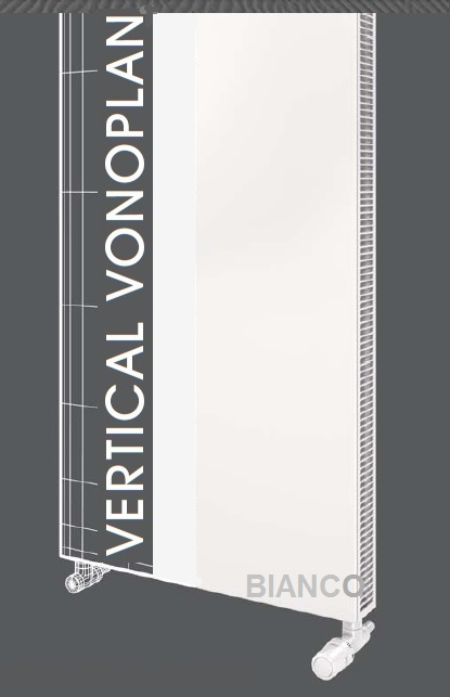 Calorifer vertical Vogel&Noot VonoPLAN K20x1800x400