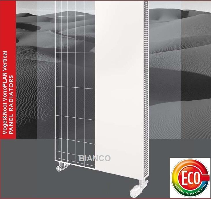 Calorifer vertical Vogel&Noot VonoPLAN K20x2000x600