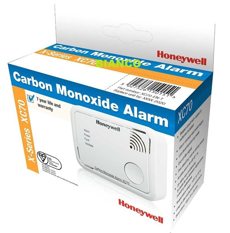 Detector de monoxid de carbon portabil Honeywell XC70