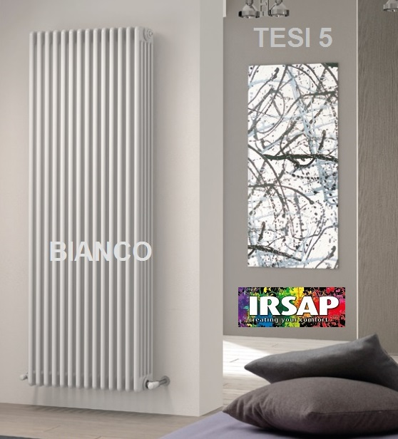 Elementi tubulari IRSAP TESI 3 H 1800 - Calorifere verticale IRSAP ...