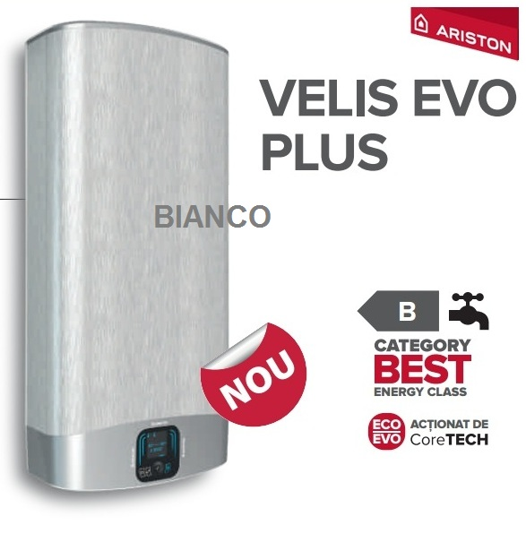 Boiler electric Ariston VELIS PLUS EVO 50 litri