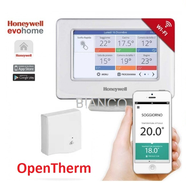 Termostat OpenTherm Honeywell EvoHOME WiFi