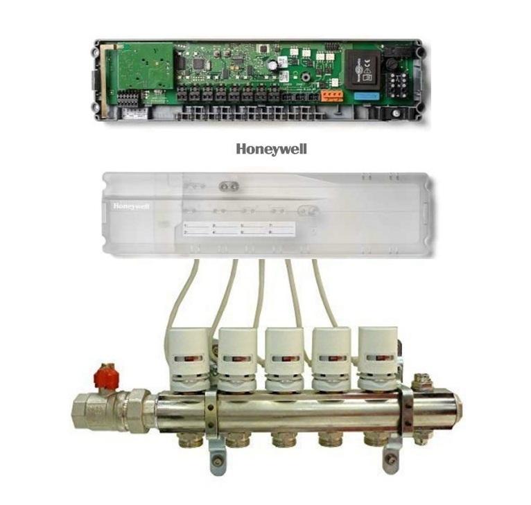 Controler wireless Honeywell HCC80 pentru incalzirea in pardoseala