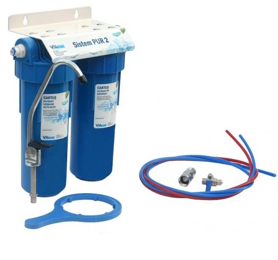 Sistem filtrant PUR 2 cu montaj pe chiuveta