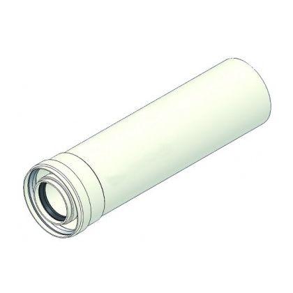 Prelungitor coaxial pentru centrale in condensare 60/100 lungime 500 mm