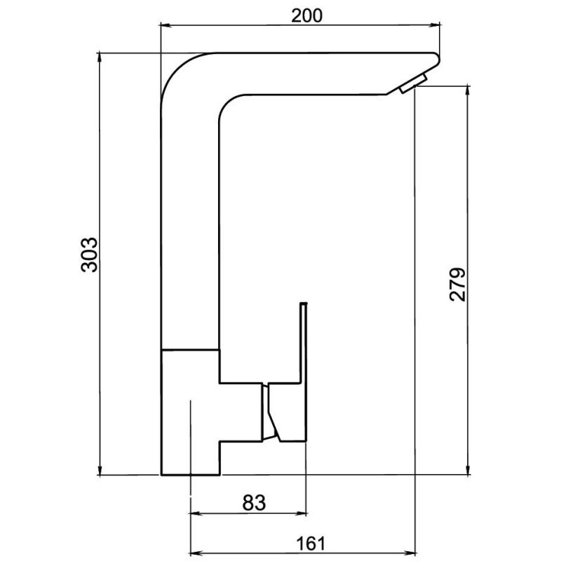 NOBLESS EDGE - baterie stativa bucatarie