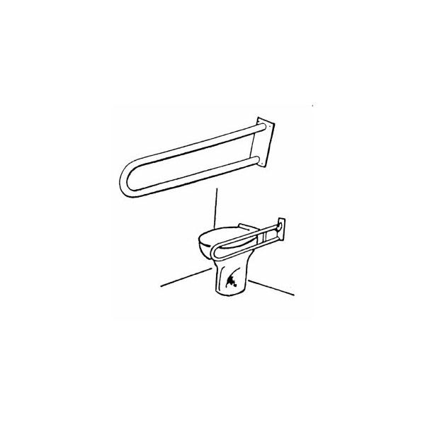 Maner sustinere dublu 550 mm - Metalia HELP