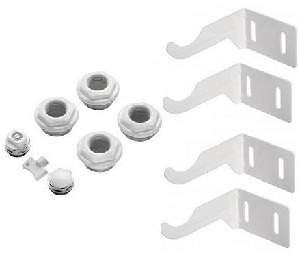 Accesorii montaj radiator aluminiu tip L