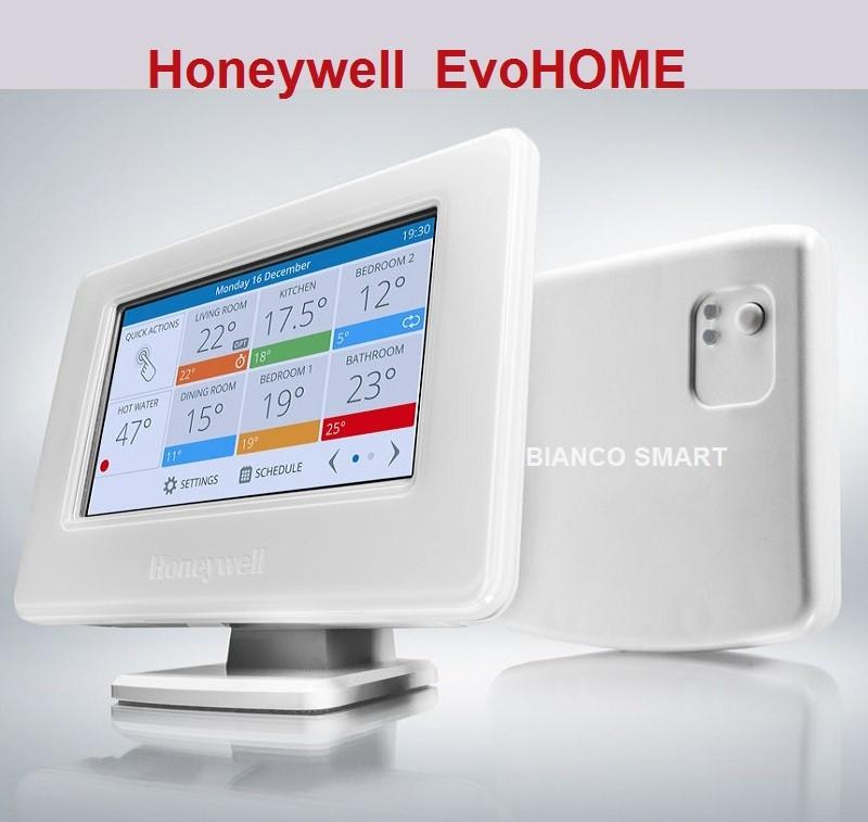 Termostat Honeywell EvoHOME WiFi pentru controlul centralei termice