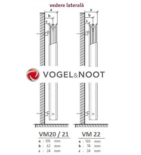 Calorifer vertical Vogel&Noot VM21x1800x450