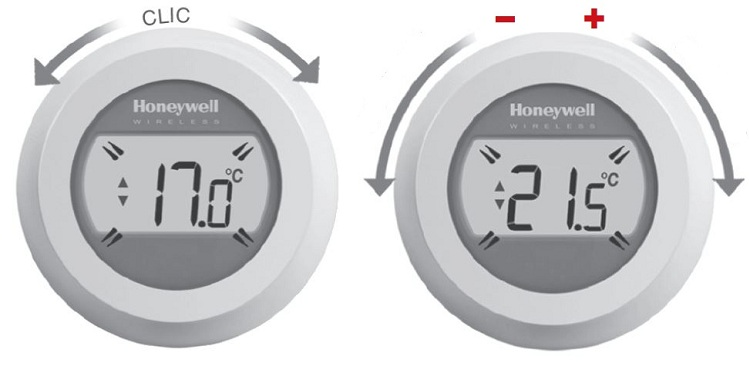 Termostat de ambient WiFi Honeywell ROUND Connected