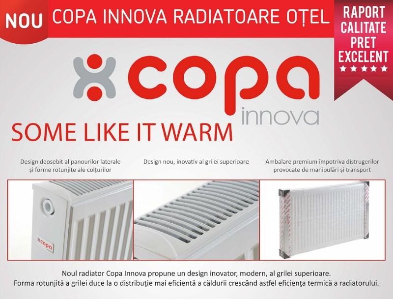 Calorifere din otel Copa Innova k 22x600x800