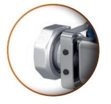 Distribuitor din inox cu 3 circuite debitmetre si ventile termostatice Purmo Premium