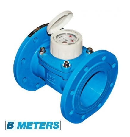 Contor de apa rece cu flansa BMeters WDE-K Woltman clasa B DN50