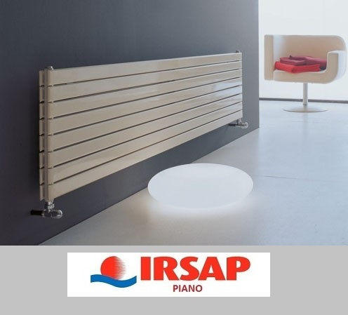 Calorifer orizontal IRSAP Piano2 - 456x1820