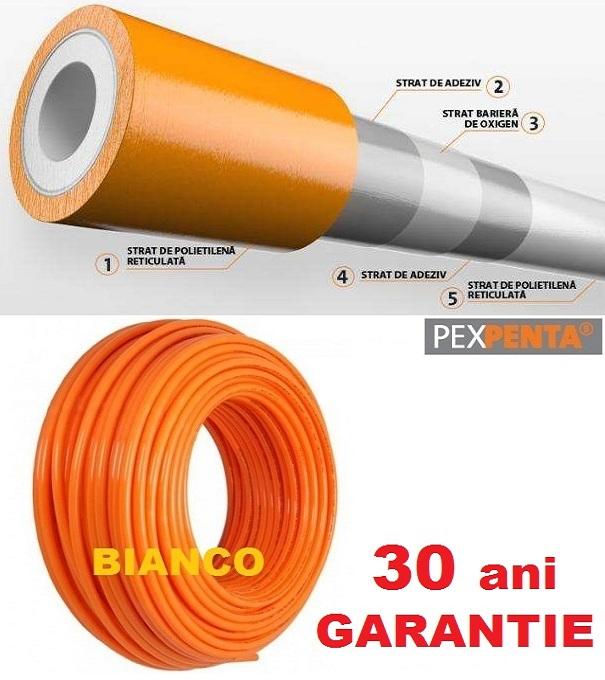 Teava Pex PENTA 25x2.3 cu bariera de oxigen colac 50 m