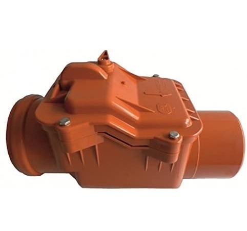 Clapeta antiretur din PVC 110 mm cu inchizator