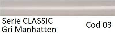 Calorifer de baie IRSAP Ares 500-1462 GRI Manhattan lucios