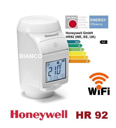Robinet 1/2 si cap termostatic HR92-RF Honeywell Home
