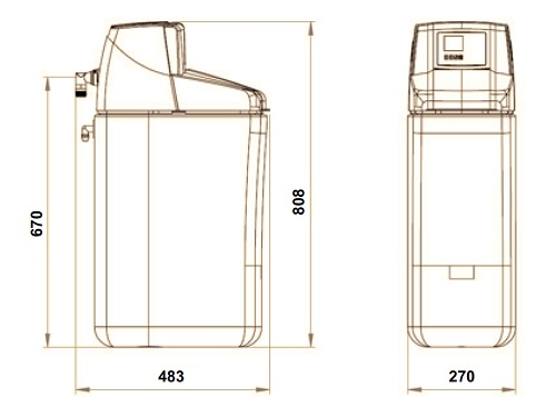 Dedurizator automat Honeywell KaltecSoft 20 litri