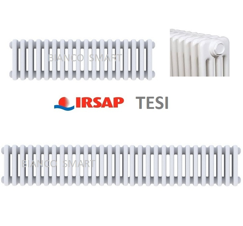 Calorifer tubular IRSAP TESI 6 H 200