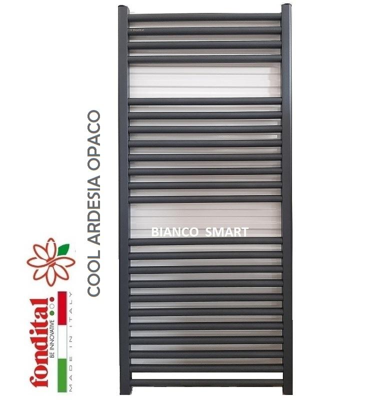 Calorifer din aluminiu pentru baie Fondital COOL 600x1160 ARDESIA
