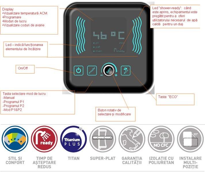 Boiler electric Ariston VELIS PLUS EVO 100 litri
