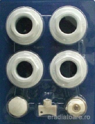 Kit accesorii radiator aluminiu