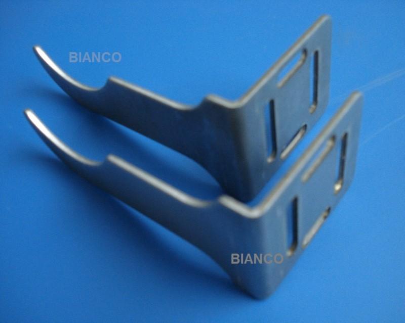 Set 2 console tip L pentru fixare calorifer aluminiu
