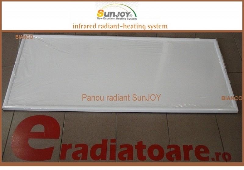 Panou radiant cu infrarosu SunJoy Nanosilver SR 8 D PLUS - 950 W