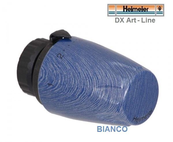 Cap termostatic Heimeier DX Art Line - Albastru marin striat 6700-01.900