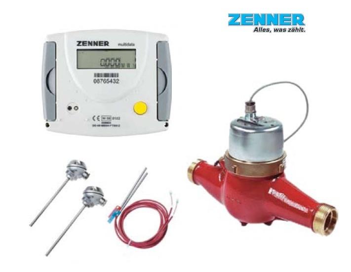 Contor de energie termica DN 25 mecanic cu Multidata Zenner WR3