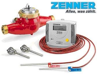 Contor de energie termica DN 32 mecanic cu Multidata Zenner WR3