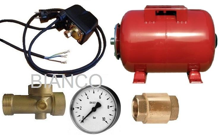 Pachet automatizare 50 litri pentru pompa sumersibila sau de suprafata