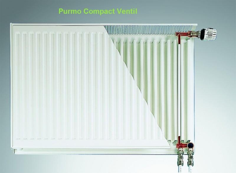 Calorifer Purmo Compact Ventil 22-600-1000