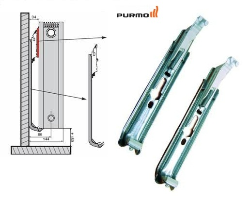 Calorifer Purmo Compact Ventil 22-450-1600