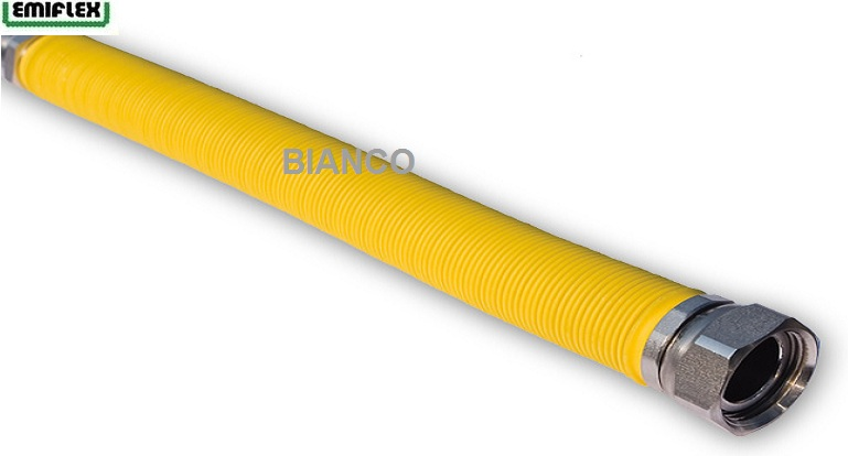 Racord extensibil gaz din inox 1/2 II 29-52 cm