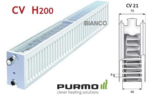 Calorifer Purmo CV 21x200x600