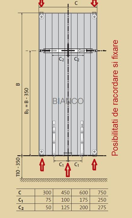 Calorifer vertical Purmo VR20/1950/750