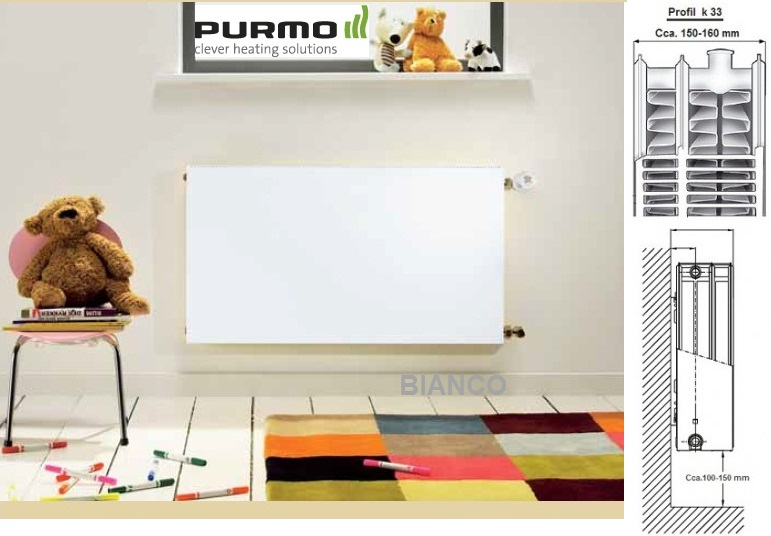 Calorifer Purmo Plan Compact FC 33-600-700