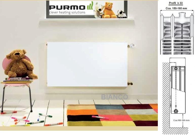 Calorifer Purmo Plan Compact FC 33-600-1000