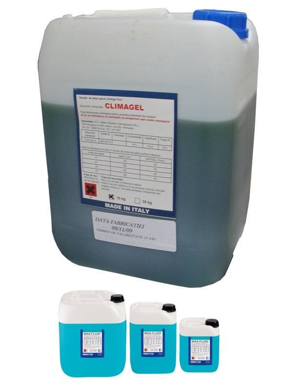 Antigel pentru instalatii termice MAX-FLUID CLIMAGEL 30 kg