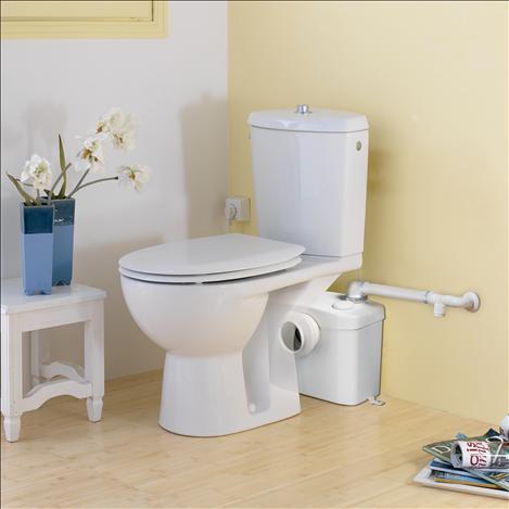 Pompa pentru ape uzate SaniFLO Silence - WC