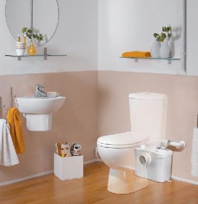 Pompa pentru ape uzate SaniTOP Silence - WC si lavoar
