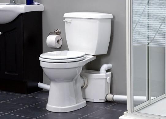 Pompa pentru ape uzate SaniPRO XR Silence - WC, lavoar, dus, bideu