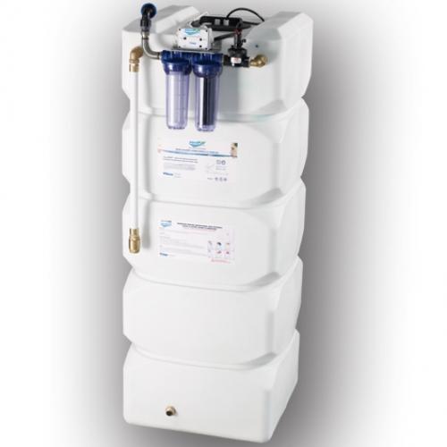 AquaPUR 500 litri sistem de filtrare stocare si pompare apa