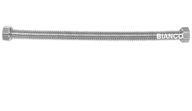 Racord flexibil din inox pentru apa 1/2-1/2 x 100 cm