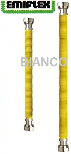 Racord extensibil gaz din inox 1/2 II 100-200 cm