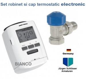 Imagine Robinet cu cap termostatic digital Jurgen Schlosser